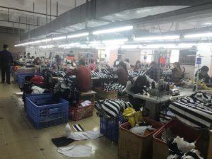 中国でアパレルのOEM製造